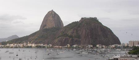 Pão de Açucar e Morro da Urca no Rio