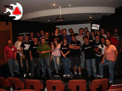 Participantes do BlogCamp-MG