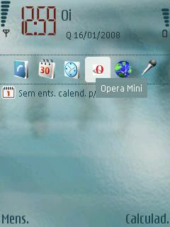 Barra de Espera Ativa - Aplicativos na Inicialização Symbian V3 S60