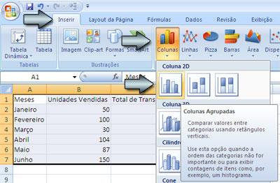 Dois Eixos no Excel - Figura 2