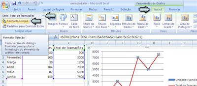 Dois Eixos no Excel - Figura 8